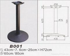 铸铁桌子腿