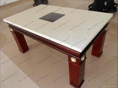 大理石火鍋桌