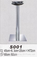 不锈钢餐台脚