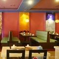 咖啡厅餐厅卡座沙发 1