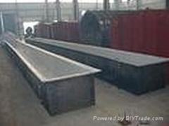 鋼襯塑耐高溫聚烴烯酸洗槽