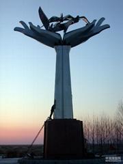 大型不鏽鋼雕塑