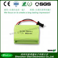 AAA 900mAh/1000mAh rechargeable ni-mh