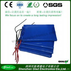 3.7V锂聚合物电池503759