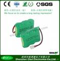 AA/AAA 500~2500mAh rechargeable ni-mh battery 4.8v 5