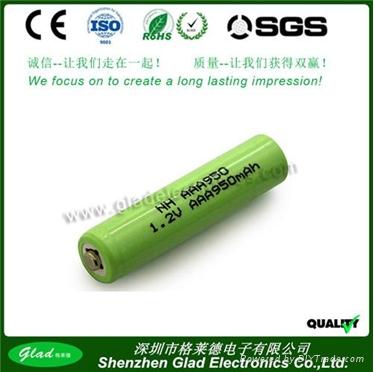 AA/AAA 500~2500mAh rechargeable ni-mh battery 4.8v 1