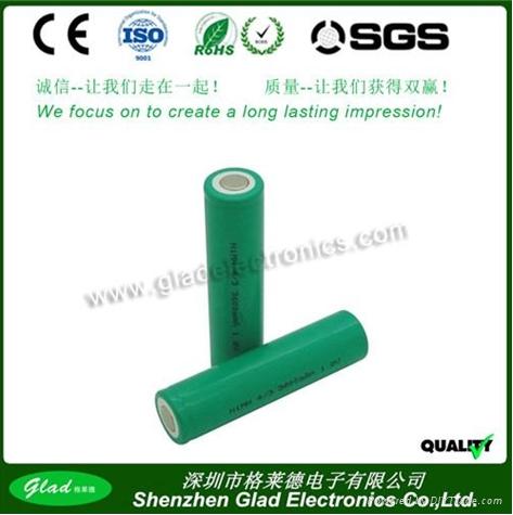 AA/AAA 500~2500mAh rechargeable ni-mh battery 4.8v 3