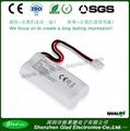 Size AA 3.6V  nimh rechargeable battery packs 1200mAh 4