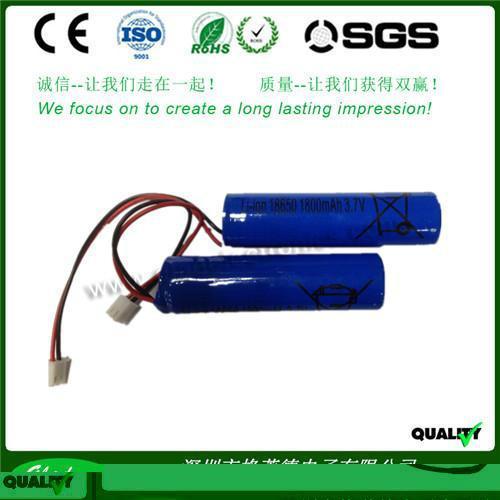 2400mAh 18650 li-ion battery 3.7v for torch light 3