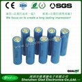 2400mAh 18650 li-ion battery 3.7v for