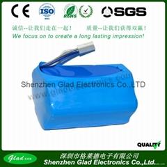 11.1V 5200mAh lithium-ion battery pack