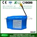 11.1V 5200mAh lithium-ion battery pack for solar panels