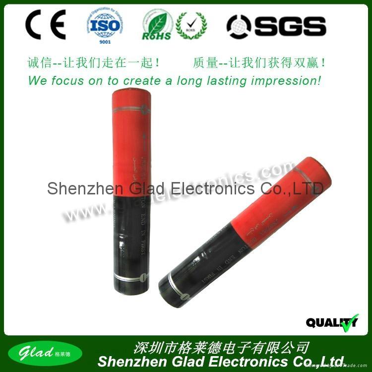 3.6v Sub-SC ni-cd flashlight battery pack 2500mAh