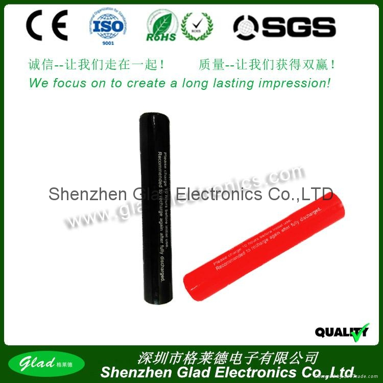 3.6v Sub-SC ni-cd flashlight battery pack 2500mAh 4