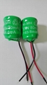 3.6V ni-mh button cell battery 160mA/80mAh with 2 pins  4