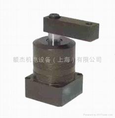 台湾EZ-CLAMP空压下法兰配管式转角缸