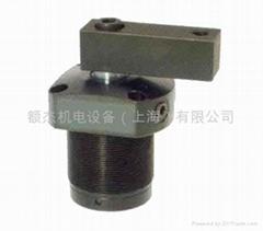 台湾EZ-CLAMP空压上法兰配管式转角缸