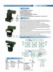 台湾EZ-CLAMP空压转角缸夹具