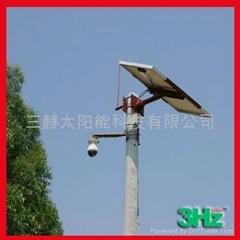 道路监控太阳能供电系统