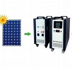 250W家用太阳能供电系统