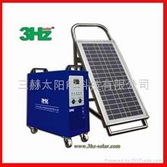 80W家用太阳能供电系统