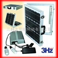 折叠式太阳能供电系统(锂电)