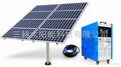 1KW离网太阳能供电系统(家用太阳能电站)