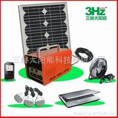 20W便携式太阳能供电系统