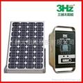 60W小型太阳能供电系统