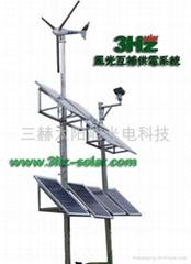 监控专用风光互补供电系统