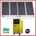 800W离网太阳能供电系统(家用太阳