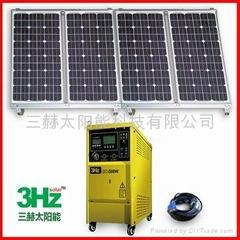 800W离网太阳能供电系统(家用太阳能电站)