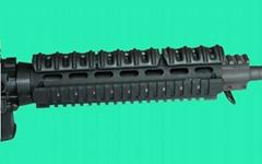 GP-0008 Quad Rail Hand Guard for Mid Length AR