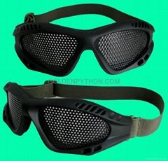GP-MS001 Airsoft No Fog Metal Mesh ZERO Goggle Glasses