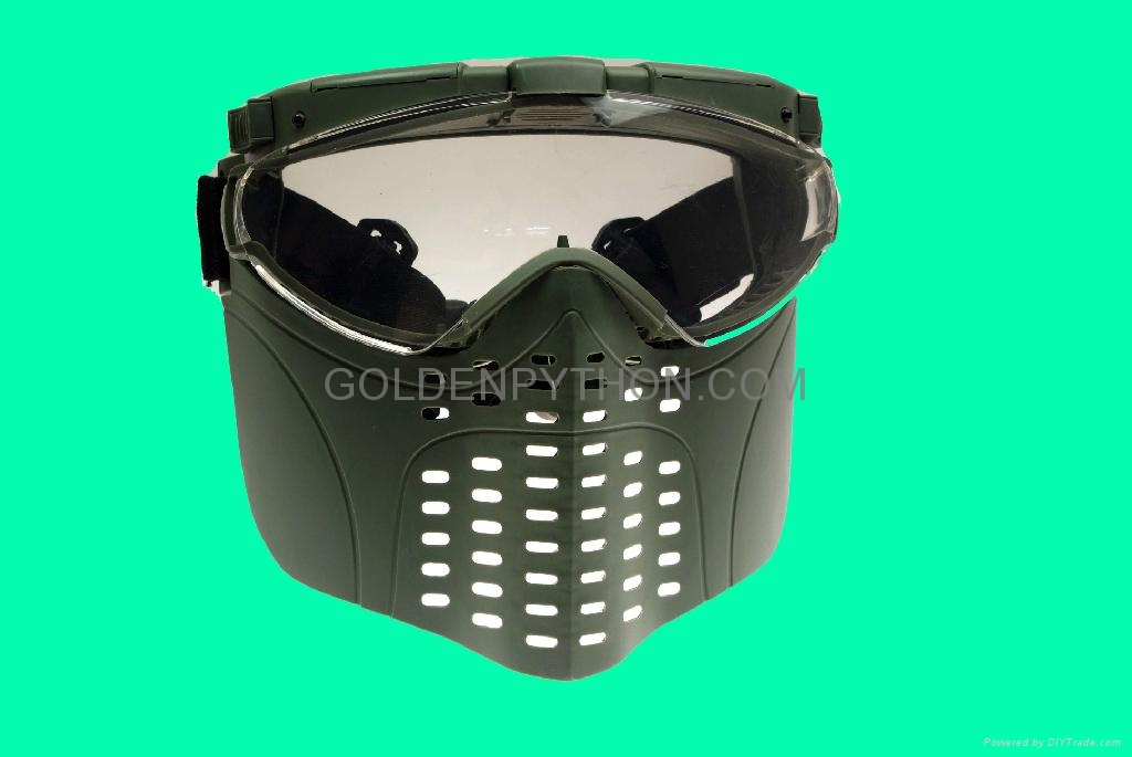 GP-MS006-1 Tokyo Fan Ventilation PRO GOGGLE Full Face Mask RG 1