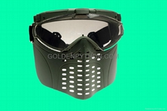 GP-MS006 Tokyo Fan Ventilation PRO GOGGLE Full Face Mask RG