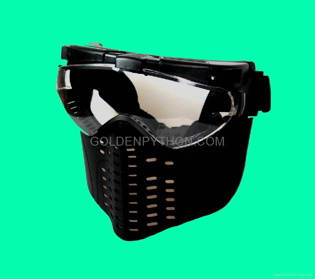 GP-MS006-1 Tokyo Fan Ventilation PRO GOGGLE Full Face Mask RG 2
