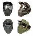 GP-MS007 Full Face Airsoft Paintball Goggle Clear Lens Mask