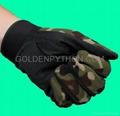 GP-TG006 Camo Full Finger Non-Slip Assault Tactical Lightweight Glove