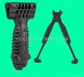 GP-0138 T-POD 20mm RIS Spring Total Bipod Foregrip Grip