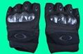 GP-TG007 Half Finger Tactical Knuckle Assault Gloves