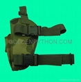 GP-TH204C Woodland Camo Elite Tactical Leg Holster Right Handed