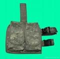 GP-TH211A ACU Digital Camouflage Double Drop Leg Magazine Pouch