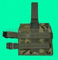 GP-TH212C Woodland Camouflage Triple Drop Leg Magazine Pouch