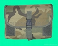 GP-TH306C Woodland Camouflage MOLLE Gas Mask/Drum Magazine Pouch 1