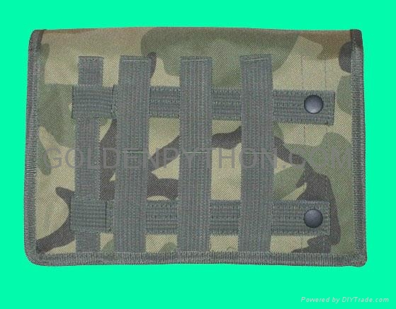 GP-TH306C Woodland Camouflage MOLLE Gas Mask/Drum Magazine Pouch 2