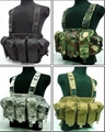 GP-V016 AK Multicam Tactical Fighting Load Magazine Chest Rig
