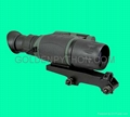 3x42 rifle scope with night vision and rail