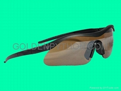 GP-MS011 Police Shooting Glasses Sunglasses BLK