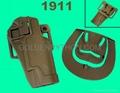 Q.R. 1911 M1911 Pistol Paddle & Belt